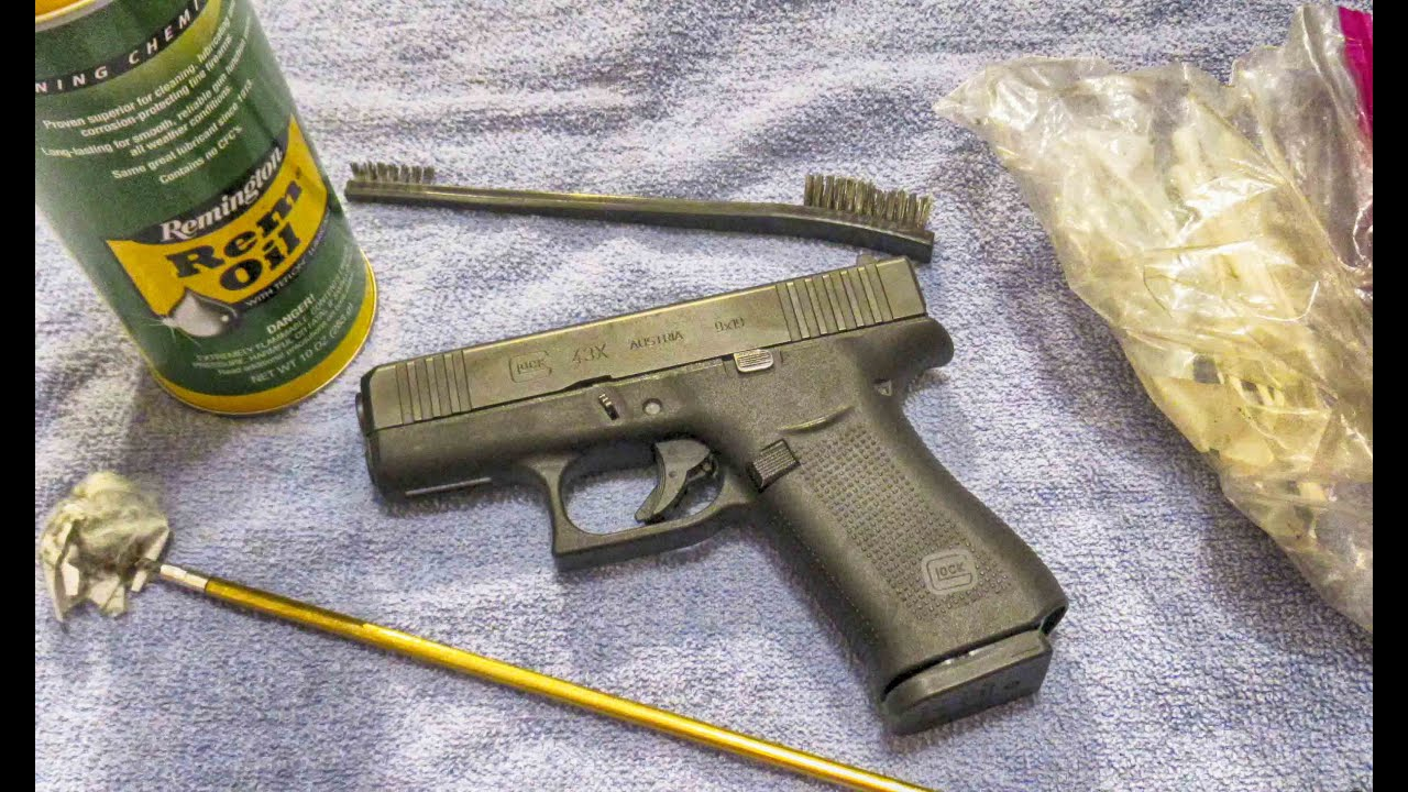 Why you should regularly clean your concealed carry pistol