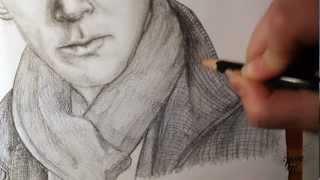 Speed Art   Sherlock Holmes   BBC Sherlock