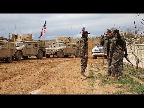 EUA permanecem na Síria até à queda de Assad