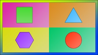 Shapes for Kids | Learn Shapes, Sides & Corners
