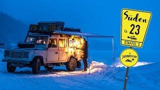 Defender Willi im Schnee | Wintercamping | Winter Wonder World | REISE-DOKU-VLOG³ N° 23