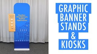 Trade Show Banner Stands and Kiosks