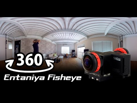"360 VR : Entaniya Fisheye 250 : Back to Back for 1/2.3"" sensor"