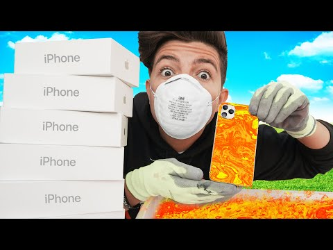 I Hydro Dipped 7 New IPhone 11s And Gave Them Away
