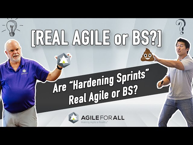 [Real Agile or BS?] Are