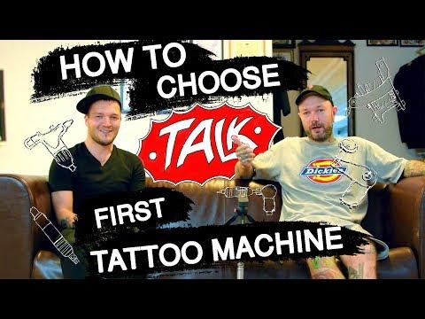 How To Choose First Tattoo Machine