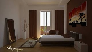 VRAY FOR  CINEMA 4D HDR INTERIOR SUN TUTORIAL