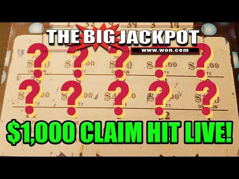 🔴Live Lotto Scratch off against Scotty to Slotty💥