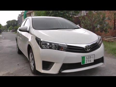 Toyota Corolla Gli Start up 2015