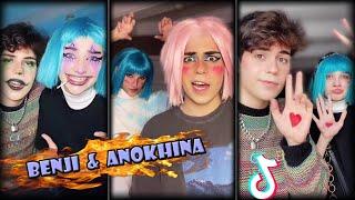 Anokhina Liza And Benji Krol TikTok Compilation 2021