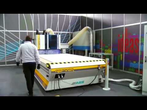 RAPTOR - 3 Axis CNC Router / Nesting Solution