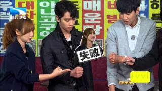 Perhaps Love 150723-Liuyan & Chansung, Xiong Dai Lin &  Lee Kwang-Soo