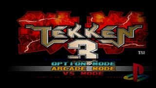Игры Sony PlayStation 1 Tekken 3+. Выпуск #2