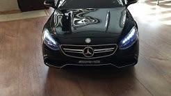 Автомобилна акумулаторна количка mercedes s 63 cabrio coupe