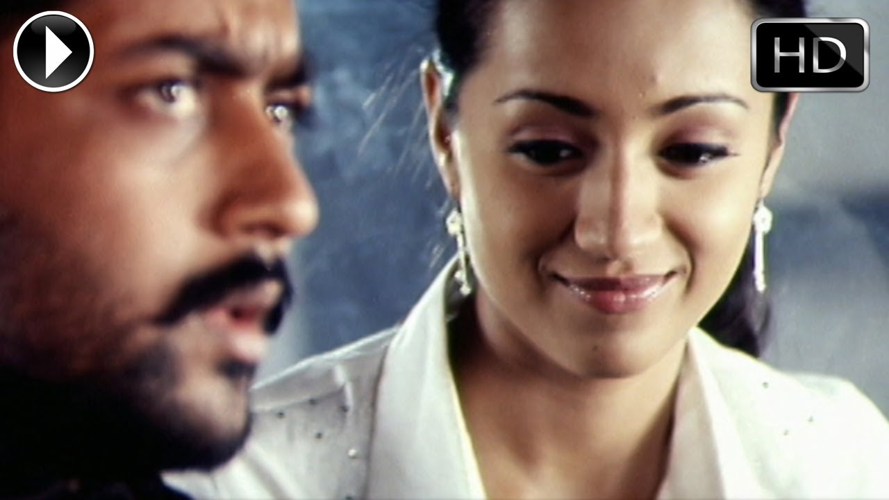 Aaru movie | love scene between surya and trisha youtube.