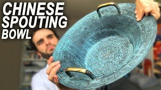 THIS BOWL IS MAGIC? (Chinese spouting bowl)