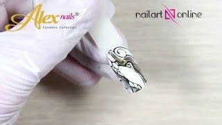 Маникюр с рисунками на ногтях. Весенний дизайн ногтей №20