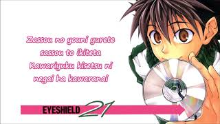 Anime Title : Eyeshield 21 https://myanimelist.net/anime/15/Eyeshie...
