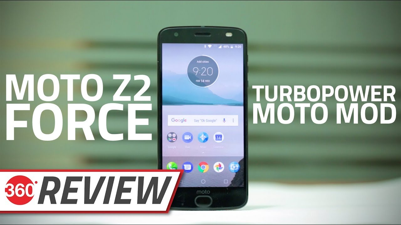 Moto Z2 Force and Moto TurboPower Mod Review | NDTV