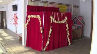 Ширма детская театральная для детских садов г.Хабаровск(мебель для детских садов ООО