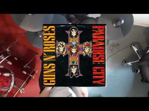 Guns N Roses Paradise City (Drum Cover) #gunsnroses #paradisecity #drumcover