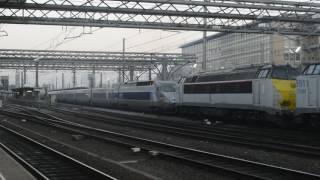 UM 55 TVM : TGV réseaux  Bruxelles -Midi  SNCB-NMBS Brussel-Zuid