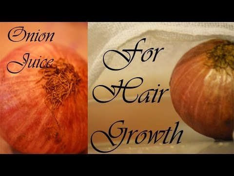 How To Grow Hair Naturally Fast Using Onion Juice