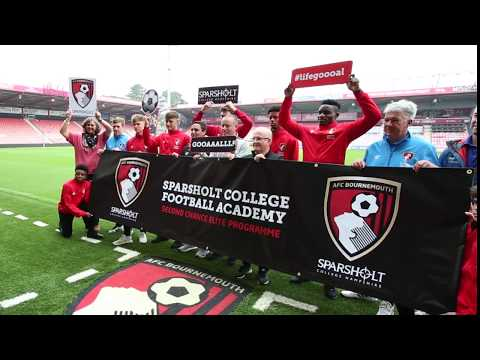 AFC Bournemouth Second Chance Elite Programme for Sparsholt College Football Academy