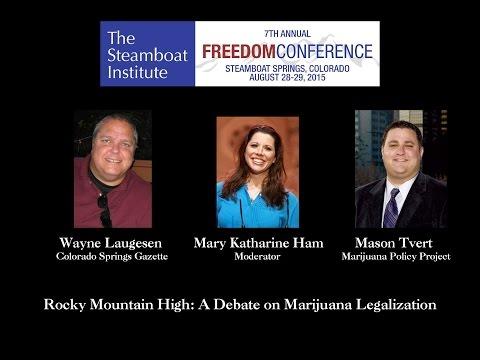 Marijuana Legalization Debate Steamboat Institute Freedom Conference 2015