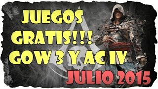 Juegos Gratis Assassins Creed IV y Gears of War 3 Games with Gold Julio 2015