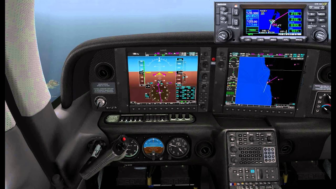(FSX) Carenado Cirrus SR22 Flight & RXP RNAV Coupled ...