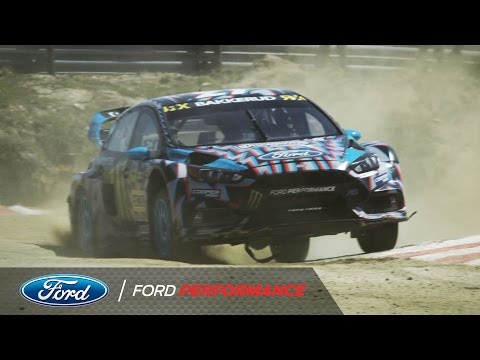 Ford Focus RS RX in Action: 40 Seconds from Portugal | FIA World Rallycross | Ford Performance