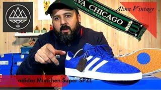 Alma vintage! adidas Munchen Super SPZL | review & on feet