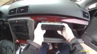 Audi a4 b6-czyszczenie i odgrzybianie klimatyzacji  (cleaning air conditioning)
