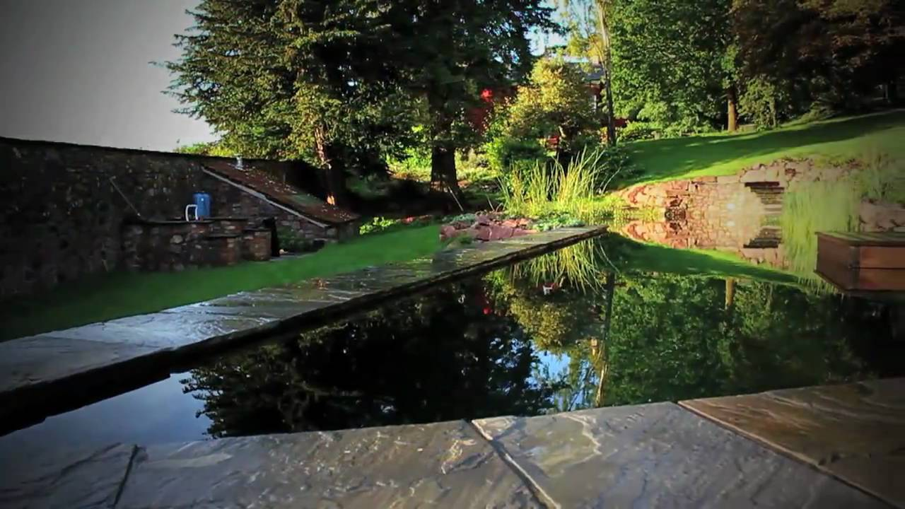 Natural Swimming Pool Presented By Bluestone Earth Fire Water Youtube