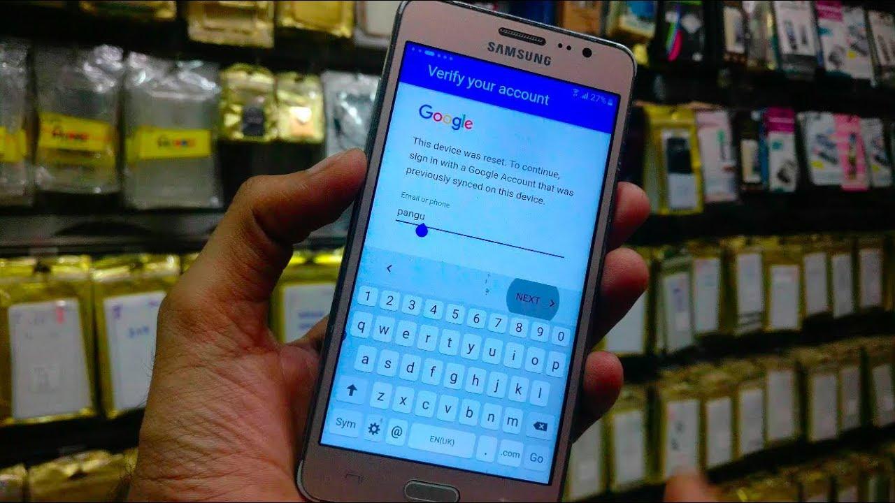 Samsung on5 FRP Bypass 6 0 1 2018 pangu FRP