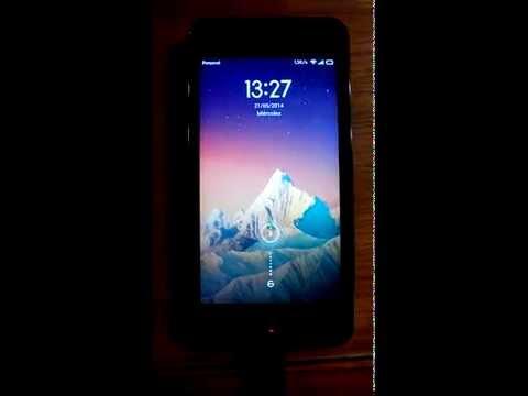 Xiaomi Mi2A Problemas al Cargar