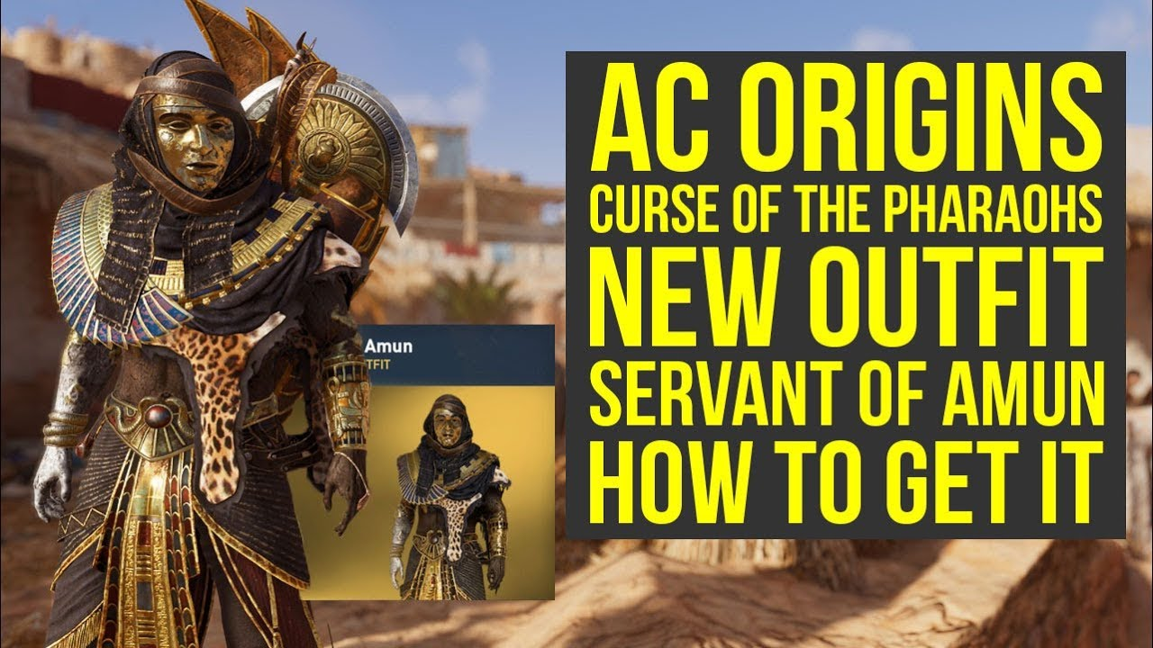 Assassin S Creed Origins Curse Of The Pharaohs New Outfit