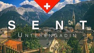 Sent, ein schmuckes Dörfchen im Unterengadin in Graubünden