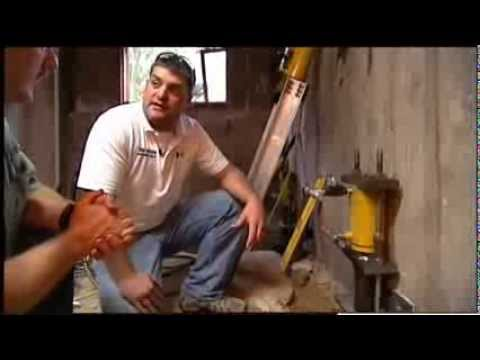 How to stabilize a foundation with Tri-State Basement Repair