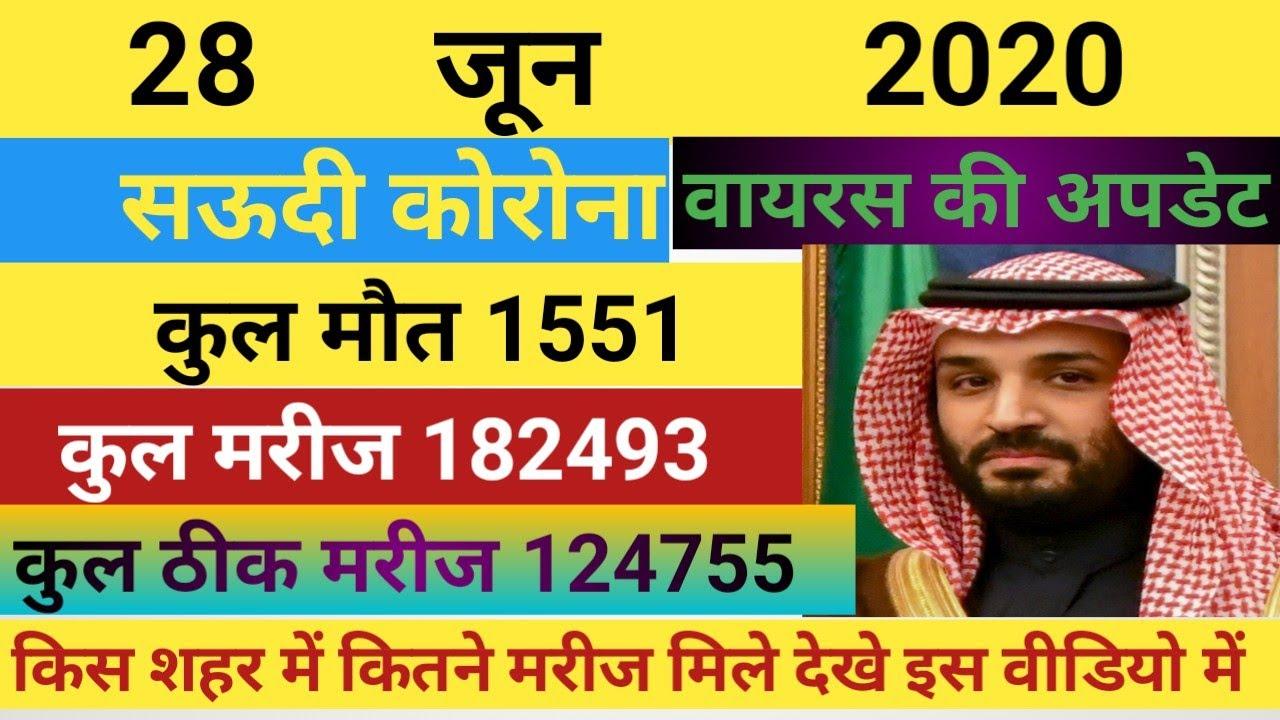 Saudi Arabia   Today 28.06.2020   Ministry Of Health ...
