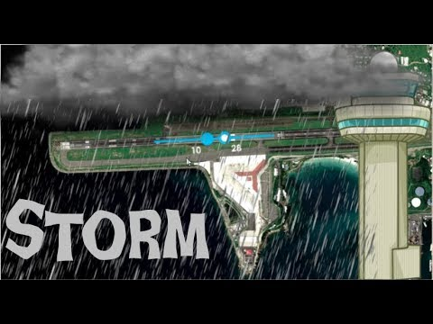 Heavy Storm in Tower!3D Pro! | ATC Simulator | TIST- St. Thomas Airport