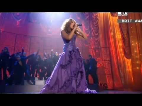 Leona Lewis -  Bleeding Love (Live At Brit Awards) HQ