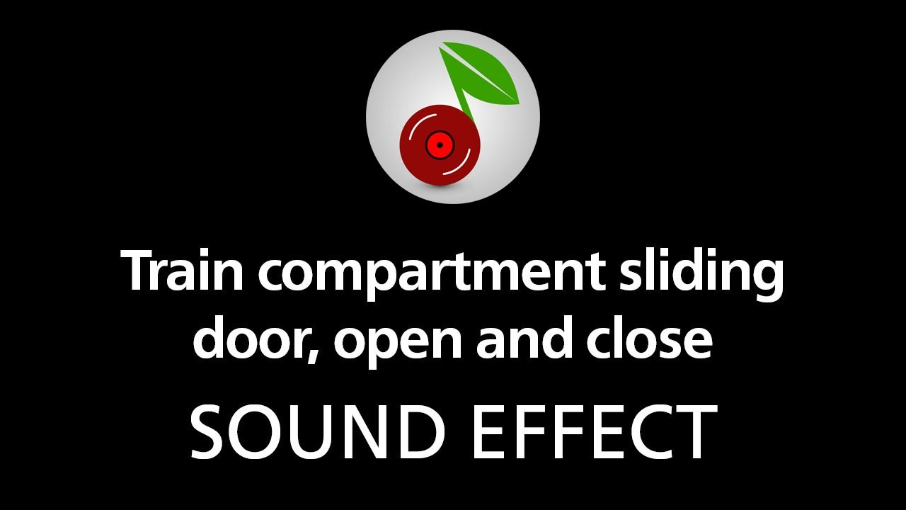 train compartment sliding door open and close sound effect youtube. Black Bedroom Furniture Sets. Home Design Ideas