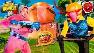 fortnite-24-hour-durr-burger-box-fort-challenge-vs-zombies-nerf-battle
