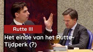 Een einde aan 10 jaar verstoppertje. Rutte toont zijn ware gezicht...