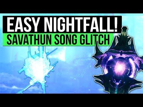 Destiny 2   EASY MAXIMUM TIME NIGHTFALL! - Savathun's Song Unlimited Anomalies Trick!