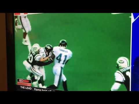 1998 NFL Divisional Round Jaguars vs Jets Dumb Fumble