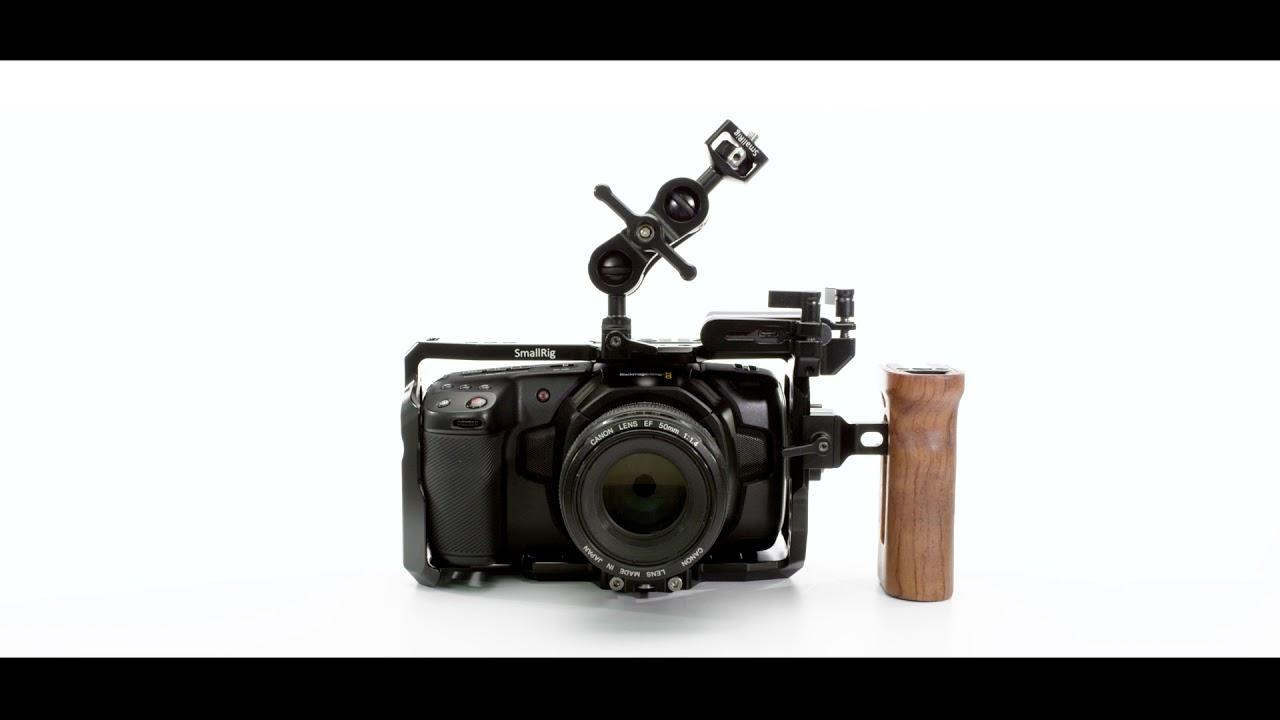 Finally Smallrig Released A Cage For Blackmagic Design Pocket Cinema Camera Youtube