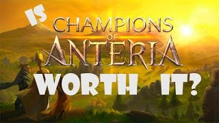Champions of Anteria Review and Gameplay